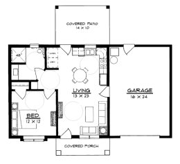 Small House Plans Under 1100 Square Feet Page 1