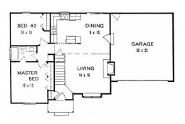 Small house plans under 1100 square feet page 1 for 1100 sq ft ranch house plans