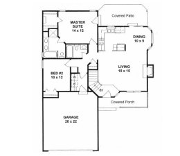 Small House Plans Under 1100 Square Feet Page 3