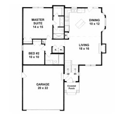 House Plans from 1100 to 1200 square feet Page 1