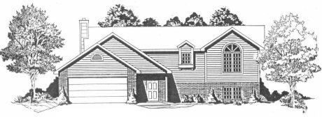 Plan # 1146 - Ranch | Large render view