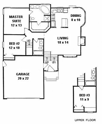 quad level home plans home design and style