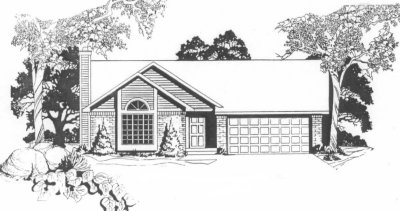 Plan 1246 front to back split level home for Front to back split house
