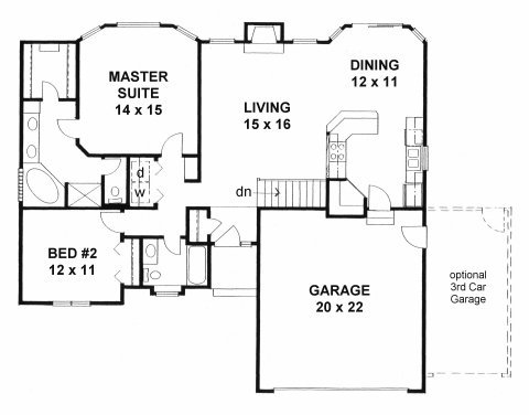1273f Ranch House Plans Square Foot on 1000 sq ft ranch plans, ranch style house plans, small house plans, 1800 sq ft ranch house plans, 900 square foot house plans, rustic ranch house plans,