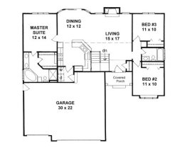 House plans from 1300 to 1400 square feet page 2 for House plans 1400 to 1500 square feet