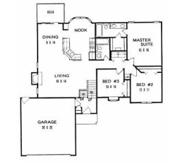 House Plans From 1300 To 1400 Square Feet Page 3