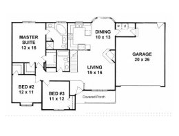 House Plans from 1400 to 1500 square feet Page 1