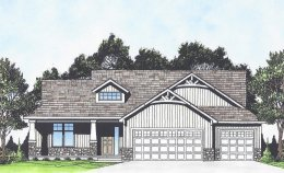 American Design Gallery,Inc.- 3 Car Garage House Plans, Duplex and ...