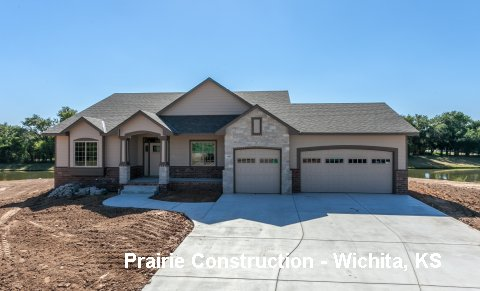 Plan #1585 - 3 bedroom Ranch, home office and 3 Car Garage on