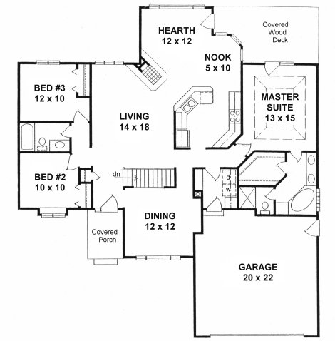 Under 2000 Sq Ft Duplex House Houses Under 500 Sq FT ~ Home Plan ...