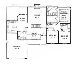 House plans from 1800 to 2000 square feet page 1 for 1800 square foot ranch house plans