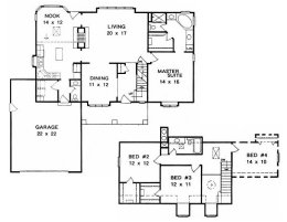 House plans over 2000 square feet page 1 for 2 story house plans 2000 square feet